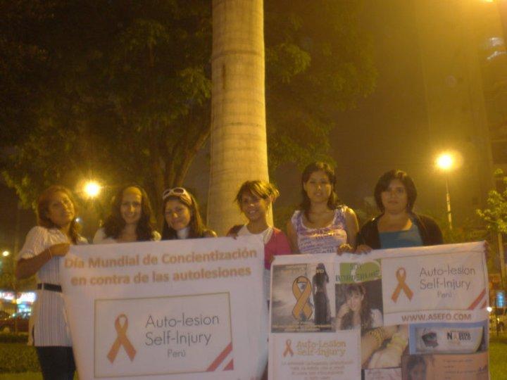 Campaña contra la autolesión en Bogota – Colombia para el 1 de Marzo dia de la autolesión