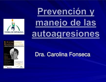 Prevencion, manejo y tratamiento de las autoagresiones, autolesiones, cutting