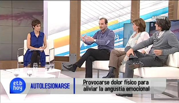 ASeFo en televisión vasca EITB – ETB Hoy (Imagenes detonantes)