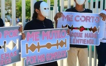 Campaña de concienciación de autolesión – Coatzacoalcos, México