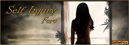 Self Injury Foro se muda a selfinjury.foroactivo.com