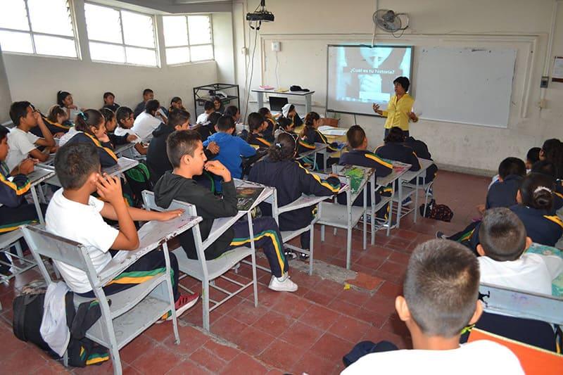 DIF Izúcar otorga platicas en instituciones educativas sobre cutting – México