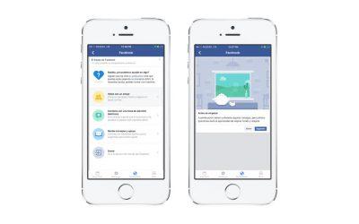 «Bienestar»: el servicio de Facebook para ayudar a prevenir autolesión y suicidios