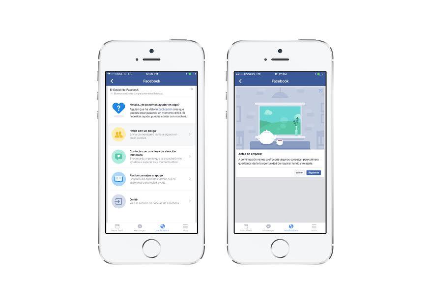 Facebook continúa con la creación de herramientas para evitar suicidios y autolesiones