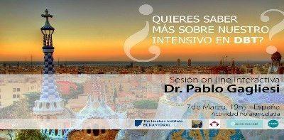 Charla gratuita acerca de entrenamiento intensivo oficial en DBT – España