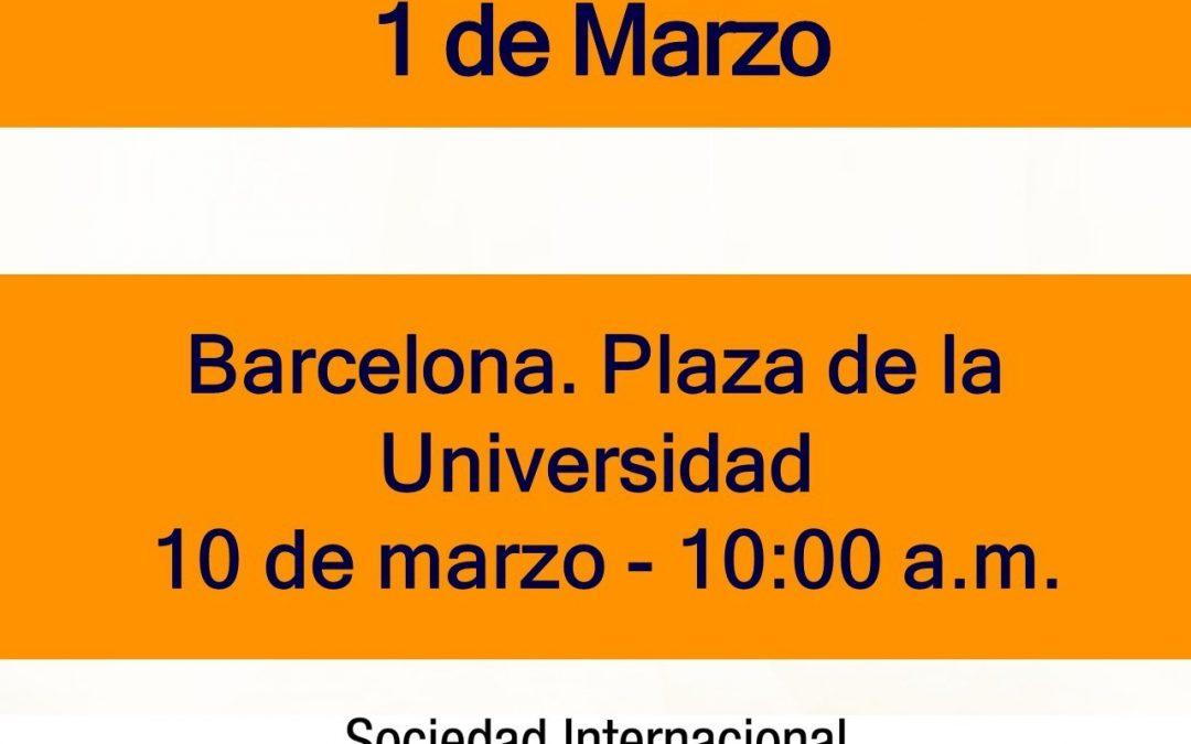 Nos vemos en Barcelona el 10 Marzo
