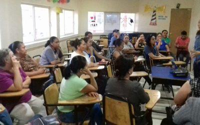 Formación para padres por SIA en CADI- México
